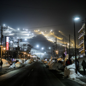 Niseko , Japan Tour. January 2014.  Photographed for Citizens of the world by Dominic Loneragan.
